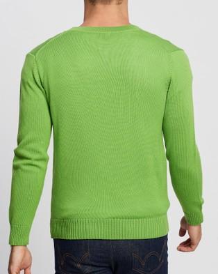 Mcintyre James Cardigan - Jumpers & Cardigans (Frog Green)