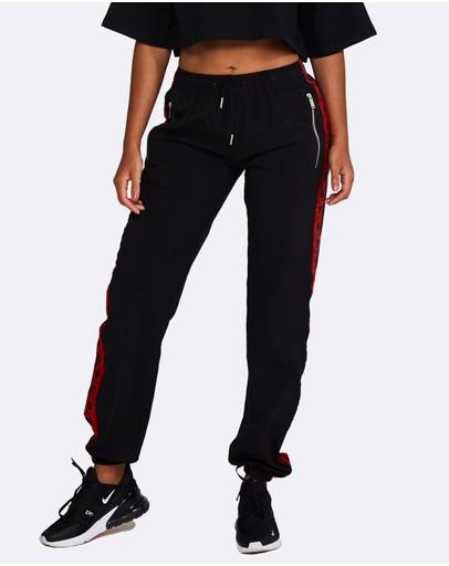 Nicky Kay Logo Track Pants Black