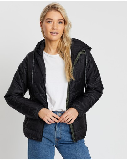 Rip Curl The Search Ii Puffer Jacket Black