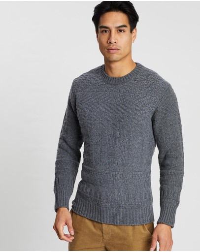 Kent and Curwen - Round Neck Knit