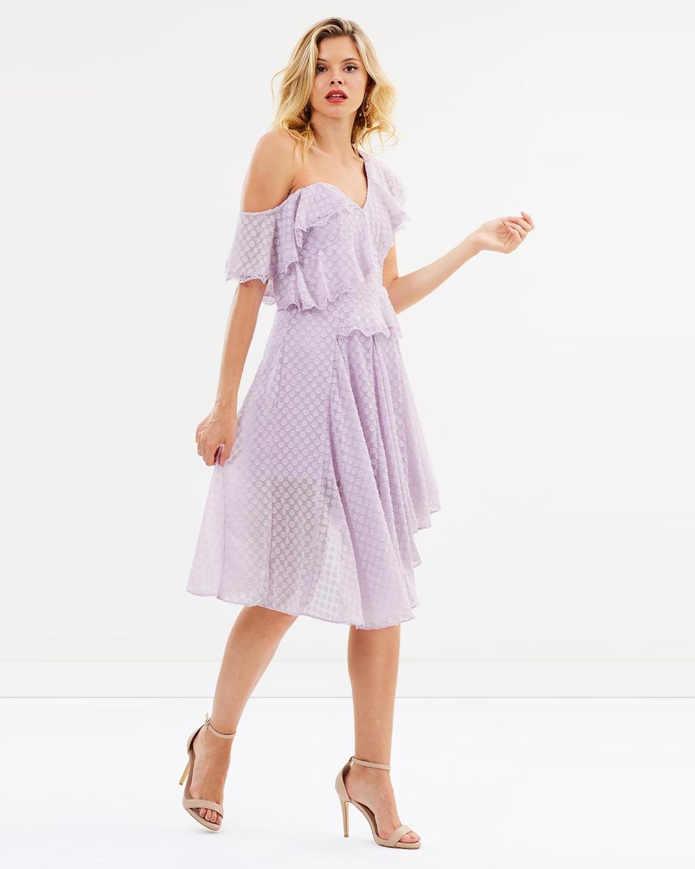 Bardot Senorita Dress Dresses Lilac Mist Senorita Dress