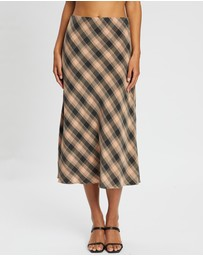 Third Form - Checking Out Midi Skirt