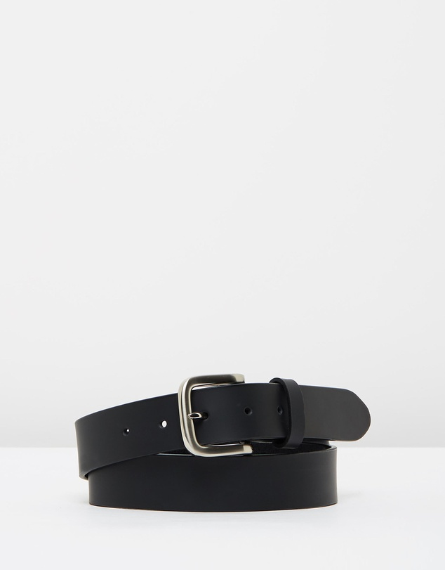 Buckle - Slate Leather Belt