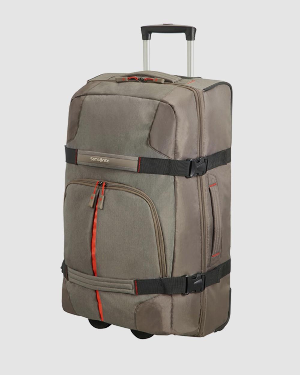 Samsonite Rewind Duffle Wheeled 68cm Bags Taupe