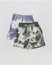 Cotton On Kids - 2-Pack Henry Slouch Shorts - Kids