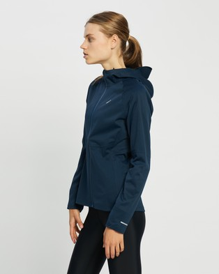 ASICS Accelerate Jacket - Coats & Jackets (French Blue)