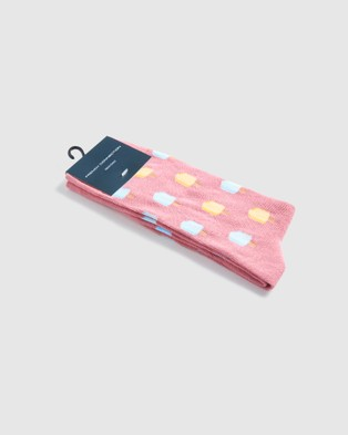French Connection Ice Cream 1 Pk Socks - Socks (VINTAGE PINK)