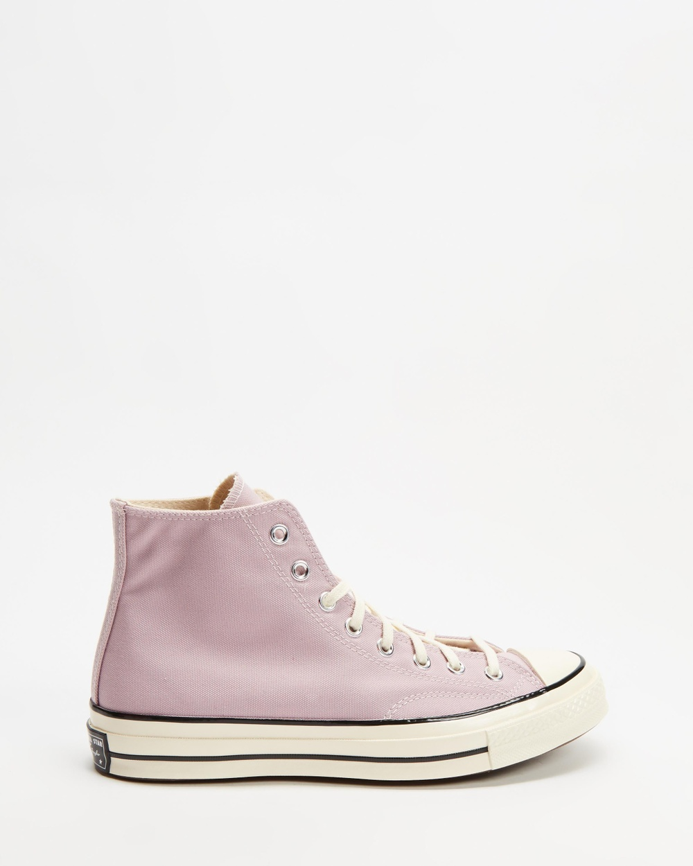 Converse Chuck Taylor All Star 70 Recycled Canvas High Tops Unisex Sneakers Himalayan Salt, Egret & Black High-Tops
