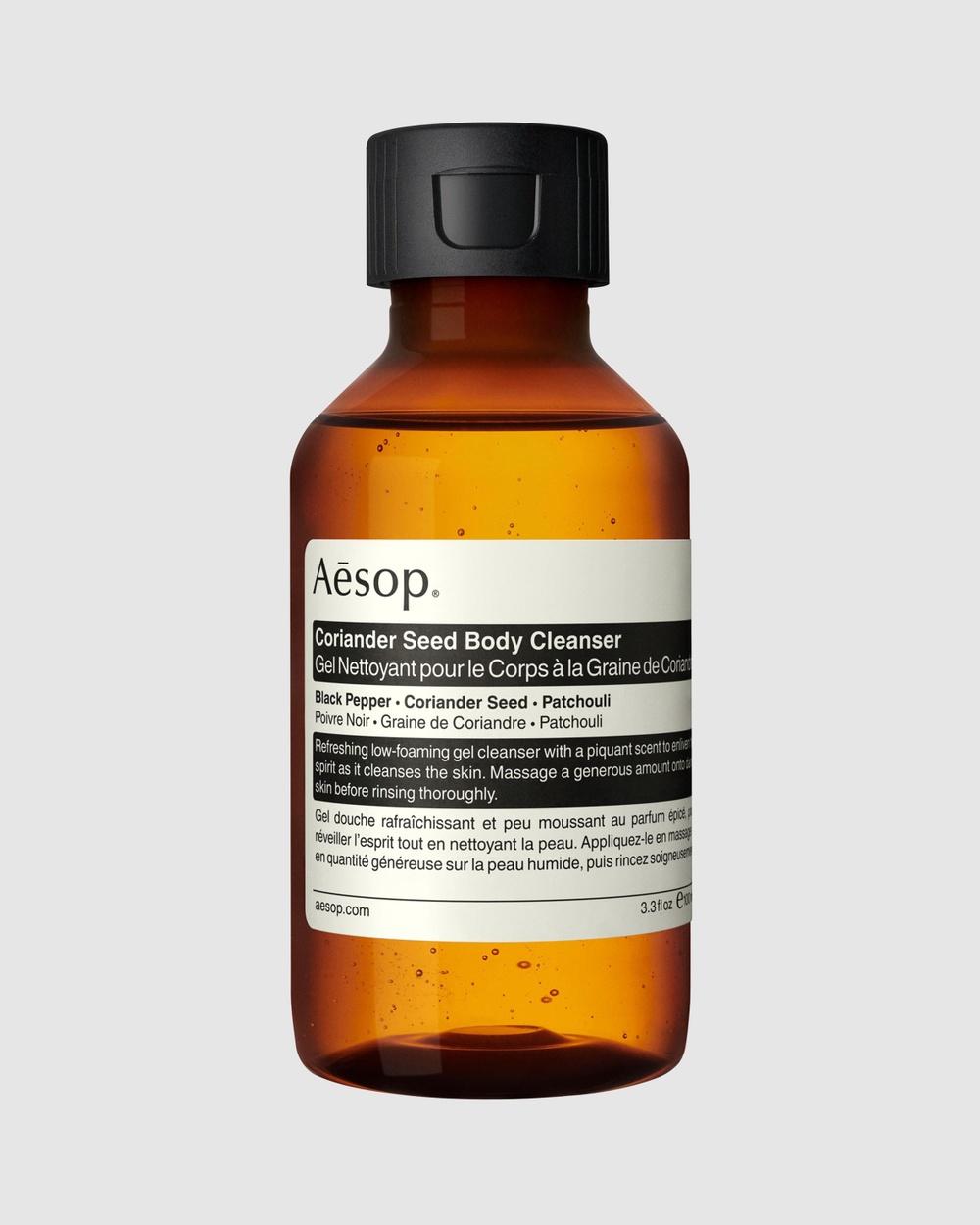 Aesop Coriander Seed Body Cleanser 100mL Beauty 100mL