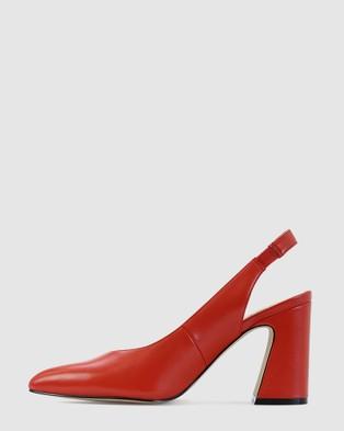 Kennedy Sheepish - Sandals (Red)