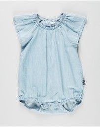 Bonds Baby - Chambray Frill Bubblesuit - Babies