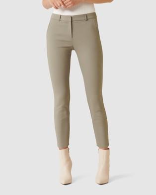 Forever New Grace 7 8th Slim Pants - Pants (Sweet Clover)