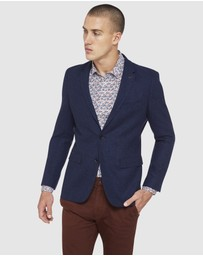 Oxford - Larkin Wool Blend Twill Blazer