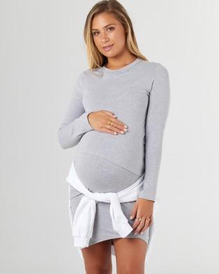 legoe Forever Dress - Bodycon Dresses (Grey Marle)