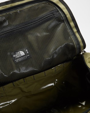 The North Face Base Camp Duffel   M - Outdoors (Burnt Olive Green & TNF Black)