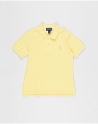 Polo Ralph Lauren - Cotton Mesh Polo Shirt - Kids