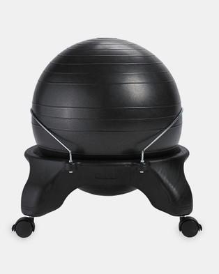 Gaiam Wellness Backless Balanceball Chair - Training Equipment (Black)