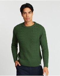 Mcintyre - Peter Merino Cable Knit