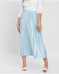 Atmos&Here - Pleated Maxi Skirt