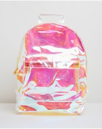 Mi-Pac - Mini Gold Transparent Backpack