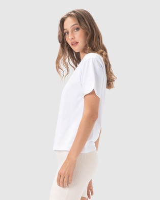 Cools Club - Club Sunday Tee - T-Shirts & Singlets (White) Club Sunday Tee