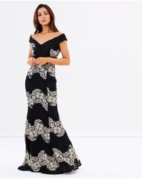 Montique - Savannah Lace Gown