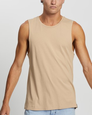 Staple Superior Organic Staple Organic Vintage Muscle - T-Shirts & Singlets (Bisque)