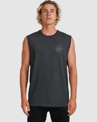 Billabong - Big Wave Dave Muscle Tank T-Shirts & Singlets (BLACK)