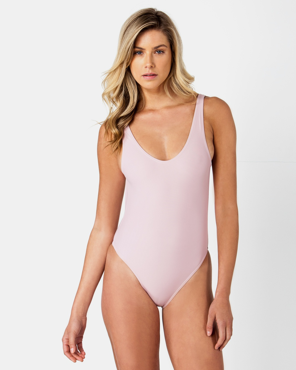 ONEBYONE Blank Swimsuit One-Piece / Swimsuit Blush Blank Swimsuit