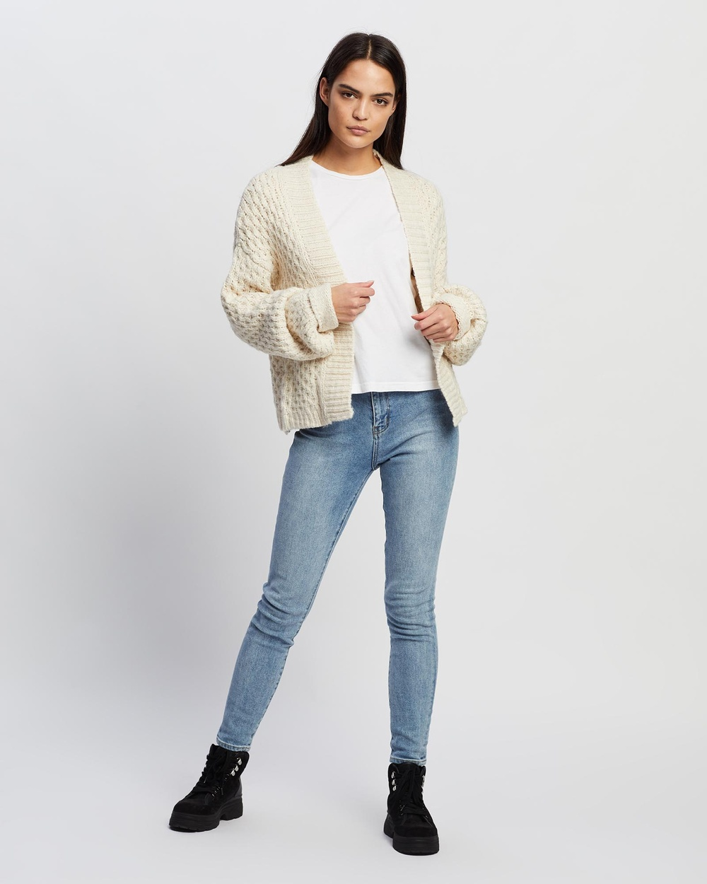 Volcom My Stitches Sweater Jumpers & Cardigans Oatmeal Australia