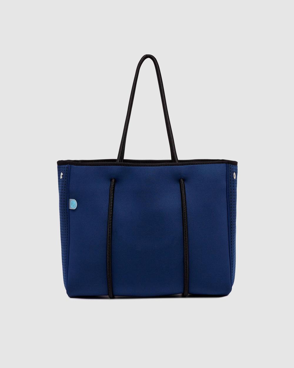 Chuchka Joanna Mini Tote Bag Handbags Navy