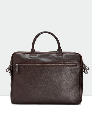 Aquila Montoro Briefcase - Bags (Brown)
