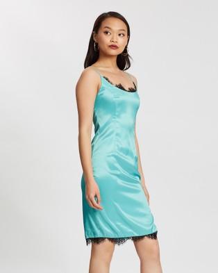 Loreta Evergreen Dress - Dresses (Green)