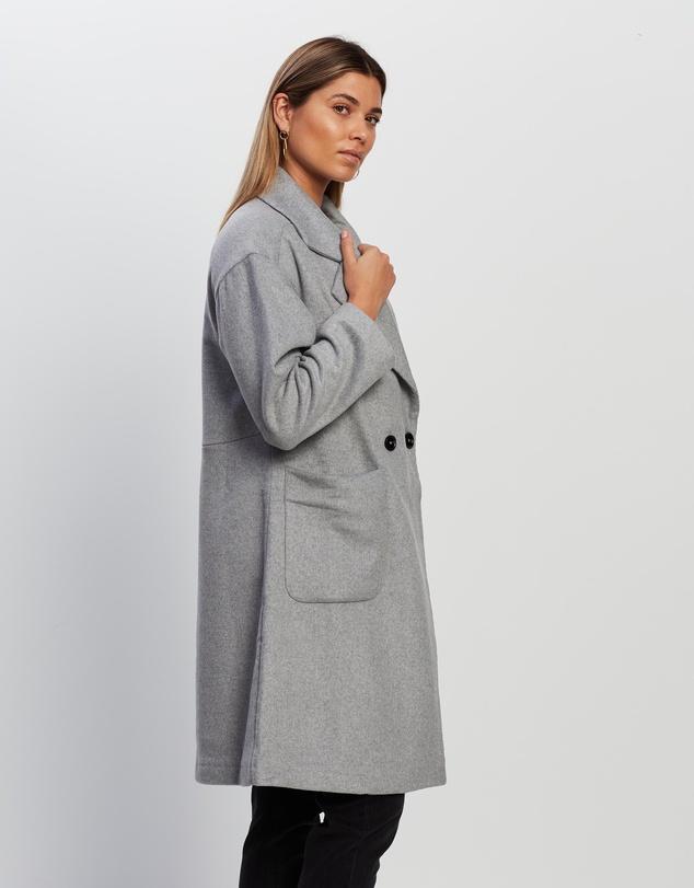 Women Vanessa Wool Blend Coat