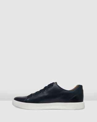 Clarks Un Costa Lace - Low Top Sneakers (Navy Leather)