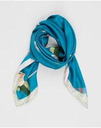 Ted Baker - Lissaa Wonderland Flight Silk Scarf