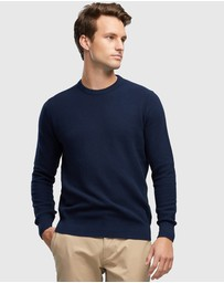 Wayver - Cotton Textured Crew Knit