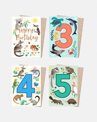 Earth Greetings Eco Card Wrap Bundle All Stationery Kids Birthday Buddies