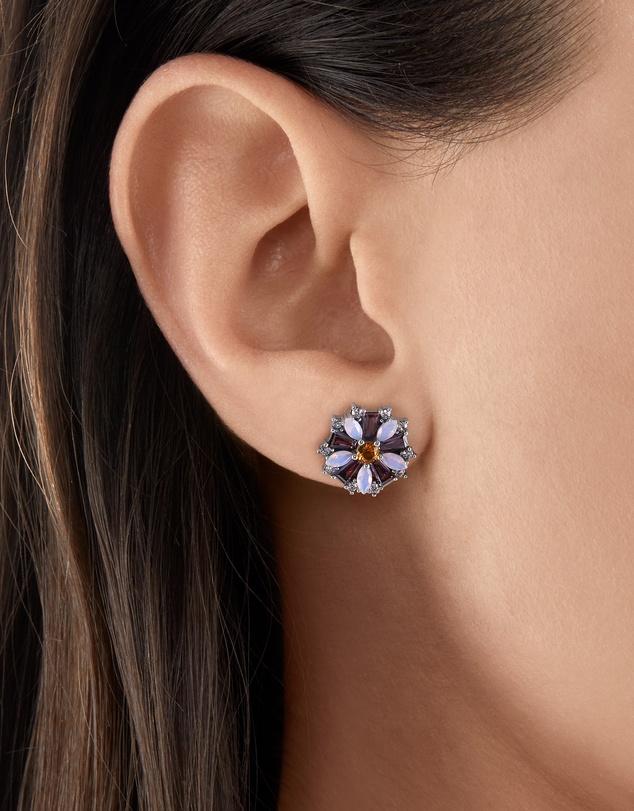 Women Ear Studs Flower