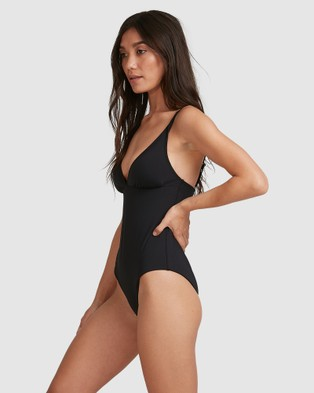 Billabong Sol Searcher Plunge Lowrider Onepice - One-Piece / Swimsuit (BLACK)
