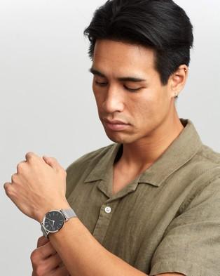 Larsson & Jennings Lugano LJXII 40mm - Watches (Silver & Black)