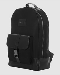 JETT BLACK - The Cupertino Backpack with Laptop Compartment
