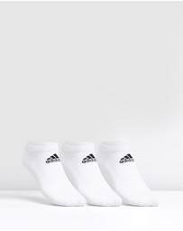 adidas Performance - Cush Low Socks - 3-Pack