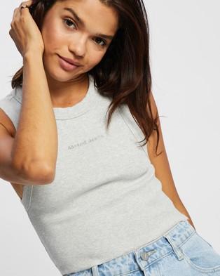 Abrand A Heather Singlet - T-Shirts & Singlets (Grey Marle)