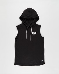 St Goliath - Official Hooded Muscle Tank - Teens
