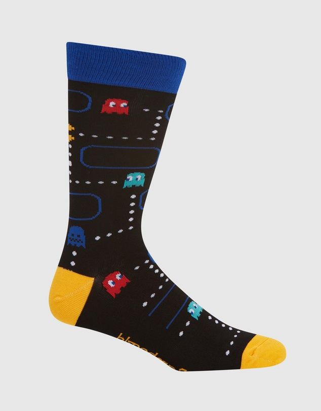 Men Pacman Sock-Card Gift Box