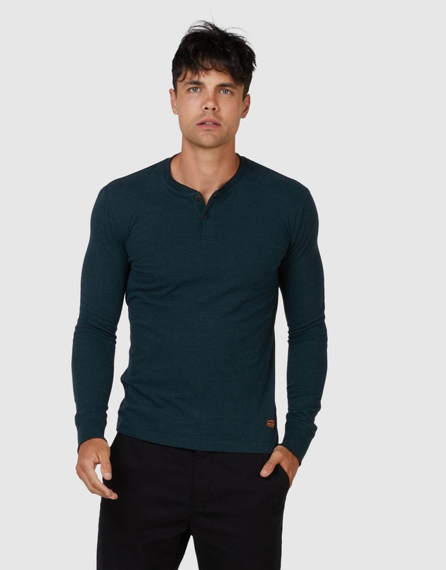 Superdry - Long Sleeve Henley