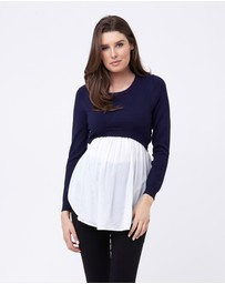Ripe - Babydoll Nursing Sweater