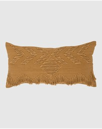 Langdon - Fringe Cushion Rectangle