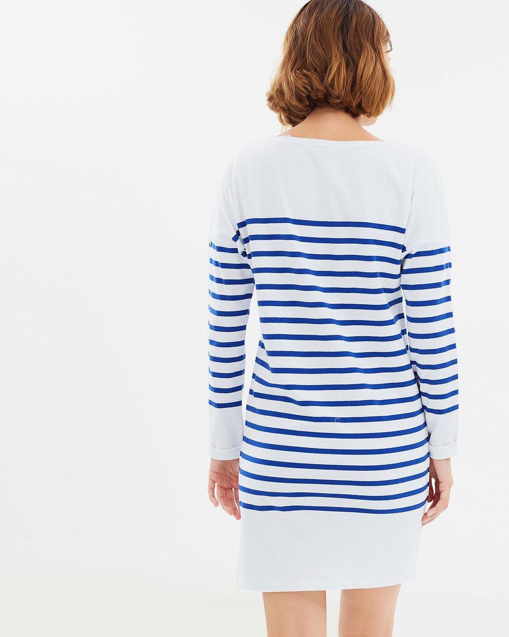 9f1abe4f9b8ed Breton Striped Sweat Dress by Maison Scotch Online | THE ICONIC | Australia